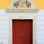 Rittergut Treben, Portal am Herrenhaus