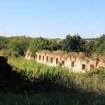 Freigut Troischau, Ruine eines Wirtschaftsgebäudes