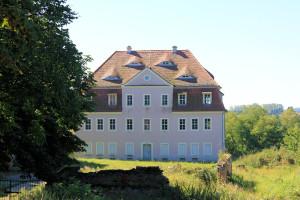 Freigut Troischau, Herrenhaus
