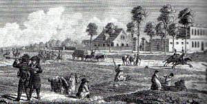 Vorwerk und Ausflugslokal Heiterblick, um 1820