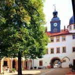 Waltershausen, Schloss Tenneberg, Schlosshof