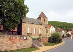 Wangen, Ev. Kirche Kleinwangen