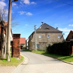 Vorwerk Wannewitz, Zufahrt