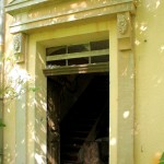 Rittergut Wedelwitz, Herrenhaus, Portal