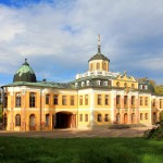 Ehringsdorf, Schloss Belvedere, Parkansicht