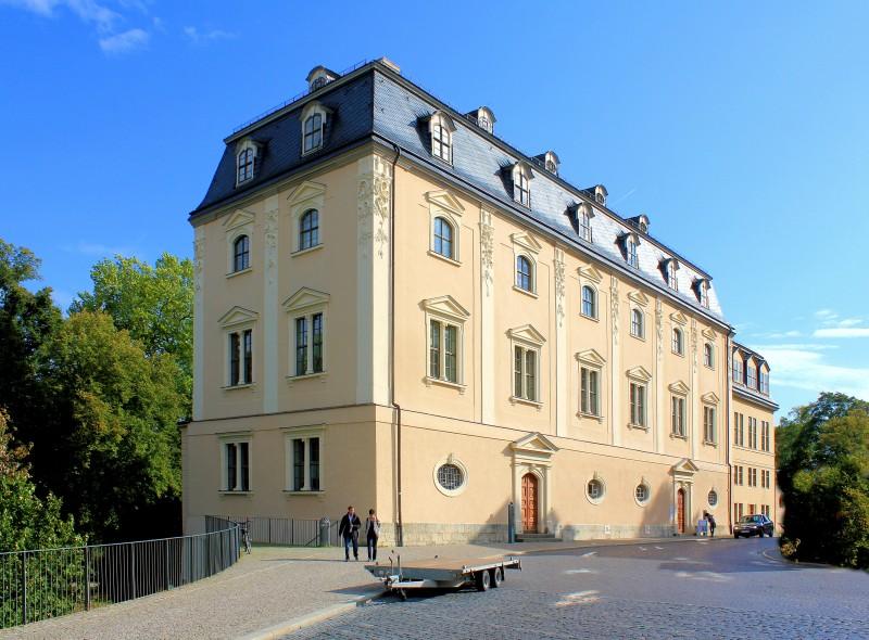 Weimar gr nes schloss franz sisches schloss anna amalia bibliothek stadt weimar schl sser - Architektur weimar ...