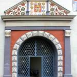 Weimar, Rotes Schloss, Portal