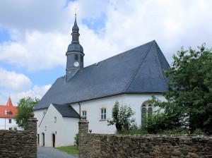 Weißenborn/Erzgebirge, Ev. Pfarrkirche