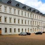 Schloss Neu-Augustusburg. Hofansicht Nordflügel