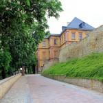 Schloss Neu-Augustusburg, Schlossauffahrt