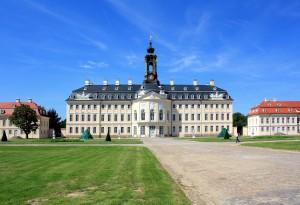 Wermsdorf, Jagdschloss Hubertusburg