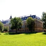Jagdschloss Hubertusburg, Parkansicht