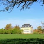 Schloss Wiederau, Ansicht von Osten