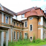 Thermalbad Wiesenbad, Schloss Hohenwendel, Parkansicht