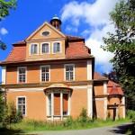 Thermalbad Wiesenbad, Schloss Hohenwendel, Südwestansicht