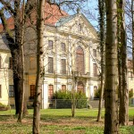 Schloss Schönwölkau, Park und Südflügel