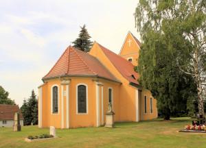 Zaußwitz, Ev. Pfarrkirche