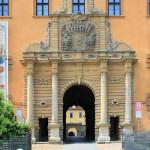 Zeitz, Schloss Moritzburg, Portal am Torhaus