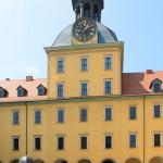 Zeitz, Schloss Moritzburg, Westflügel