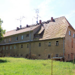 Rittergut Ziegra, Herrenhaus, Parkseite