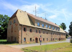 Rittergut Ziegra, Herrenhaus, Hofseite