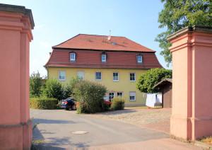 Rittergut Oberhof Zöschen, Herrenhaus