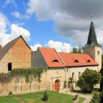 Zscheiplitz, Kirche ehem. Benediktinerinnen-Kloster