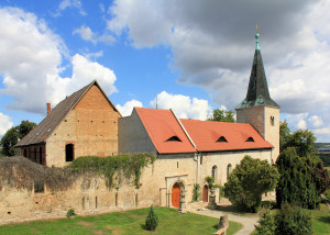 Zscheiplitz, Kirche des ehem. Benediktinerinnen-Klosters