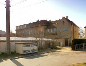 Rittergut Zschölkau, Herrenhaus, Hofansicht
