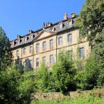 Rittergut Neusorge Zschöppichen, Parkseite des Schlosses