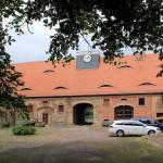 Rittergut Neusorge Zschöppichen, Torhaus Hofseite