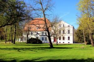 Zschortau, Rittergut Oberteil, Herrenhaus