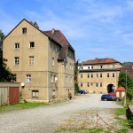Deutschordenshof Zwätzen, Wohnhaus und Torhaus