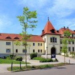 Zwenkau. Schloss