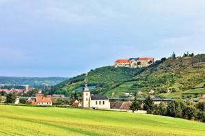 Schloss Neuenburg bei Freyburg an der Unstrut