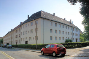 Wohnanlage Seegerstraße 1 bis 13 Anger-Crottendorf (Wohnanlage Dr. Schwabesche Erben)