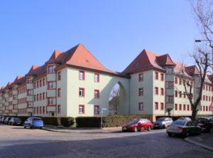 Wohnanlage BlüthnerstraßeHeimteichstraßeHellerstraßePfingstweide Leutzsch (Hubert-Ritter-Siedlung)
