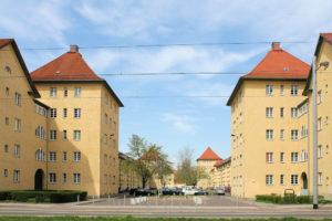 Wohnanlage Lützner Plan Lindenau