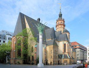 Ort europäischer Musikgeschichte - die Nikolaikirche in Leipzig