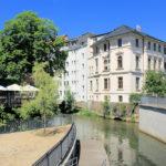 Pleiße- und Elstermühlgraben an der Italienischen Villa
