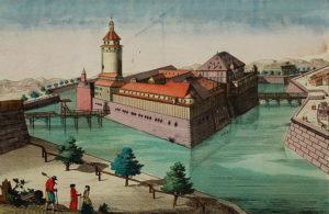 Die Pleißenburg um 1780