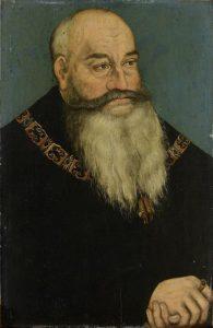 Herzog Georg der Bärtige von Sachsen, Gemälde von Lucas Cranach d.Ä.