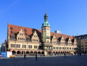 Das Alte Rathaus am Leipziger Markt - Ausdruck des Leipziger Bürgerstolzes