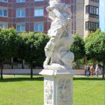 Skulptur aus Apels Garten auf dem Dorotheenplatz