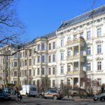 Wohnhäuser an der Ferdinand-Lasalle-STraße in Leipzig