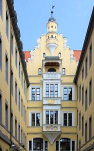 Der Erker in Barthels Hof in Leipzig