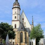 Thomaskirche zu Leipzig, Ostseite