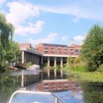 Das Stelzenhaus am Karl-Heine-Kanal