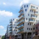 neue Wohnhäuser an der Weißen Elster