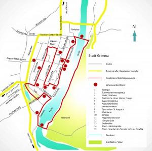 Stadtrundgang durch Grimma